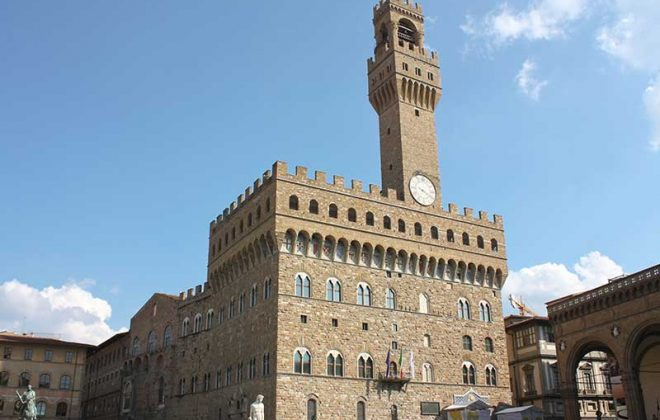 Firenze Palazzo Signoria near Cooking school in Florence