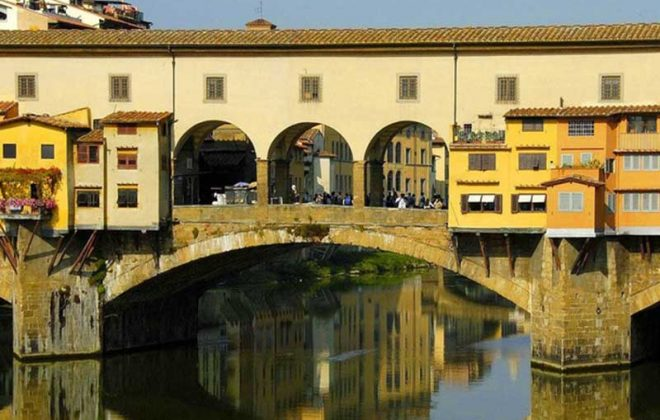 Firenze Ponte Vecchio near Cooking school in Florence