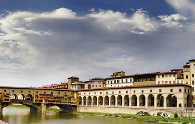 Firenze Uffizi e Ponte Vecchio near Cooking school in Florence