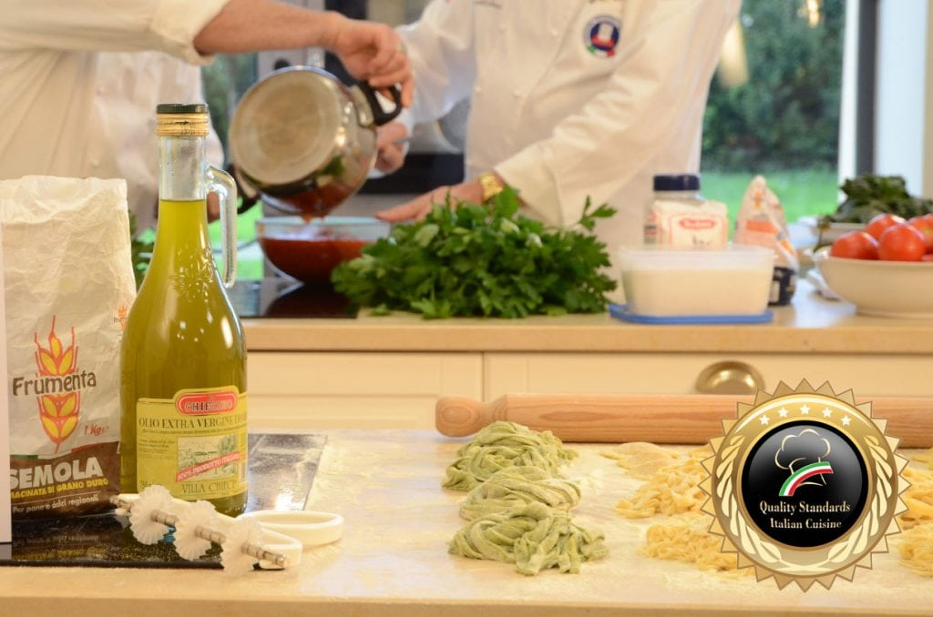 Fresh Italian Pasta Course  - Cooking School in Italy