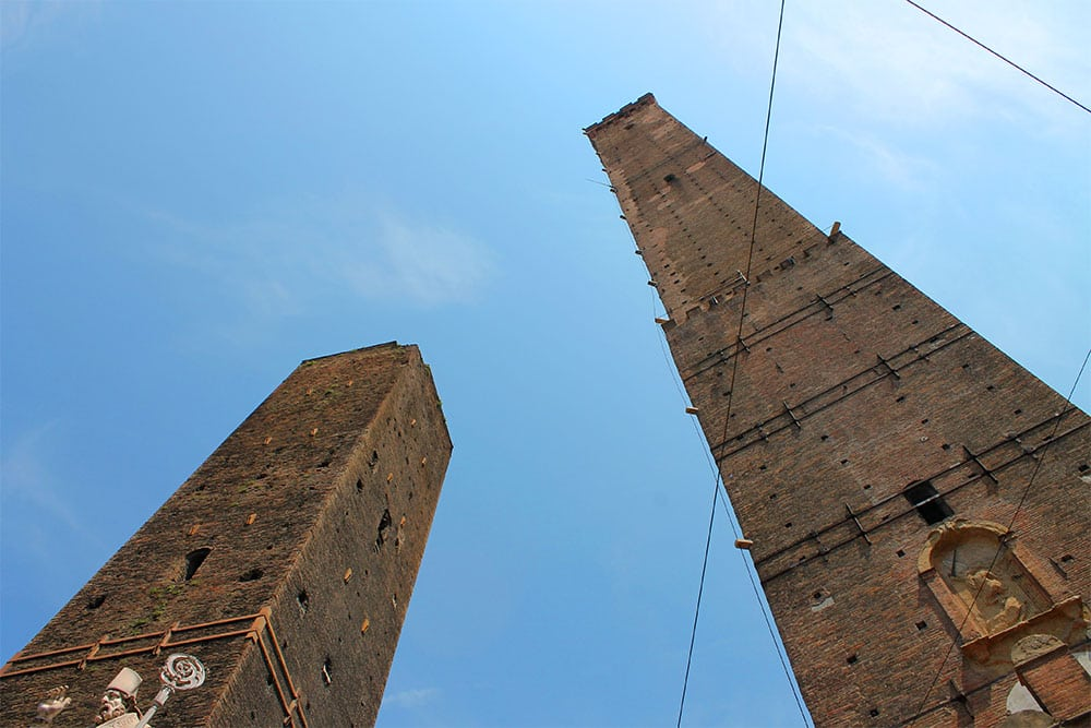 Torre Asinelli Cooking School in Bologna
