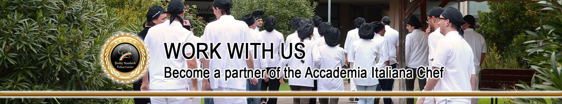 Become a Partner of Accademia Italiana Chef